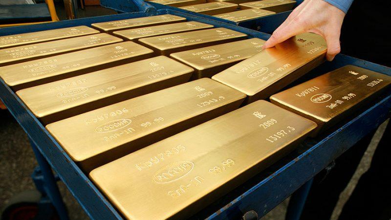 Emas Tinggalkan Harga $1,200