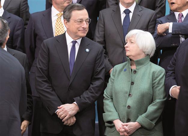 Simposium Jackson Hole : Yellen & Draghi Jadi Tumpuan